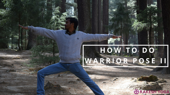 How to do a Warrior Pose II