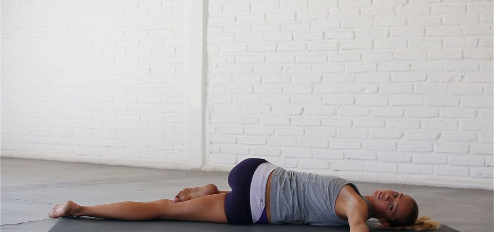 How to Supine Spinal Twist Pose