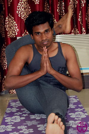 Foot over Head Pose