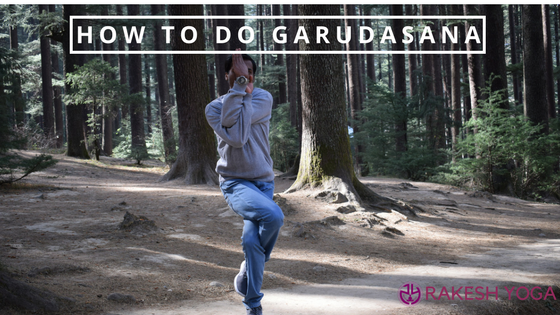 How to do Garudasana