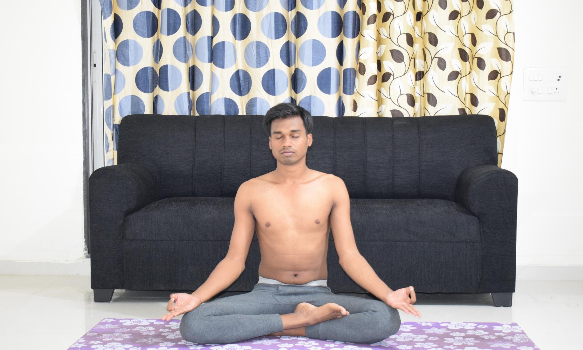 How to do Sukhasana